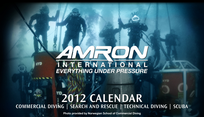 2012 Amron International Calendar Cover