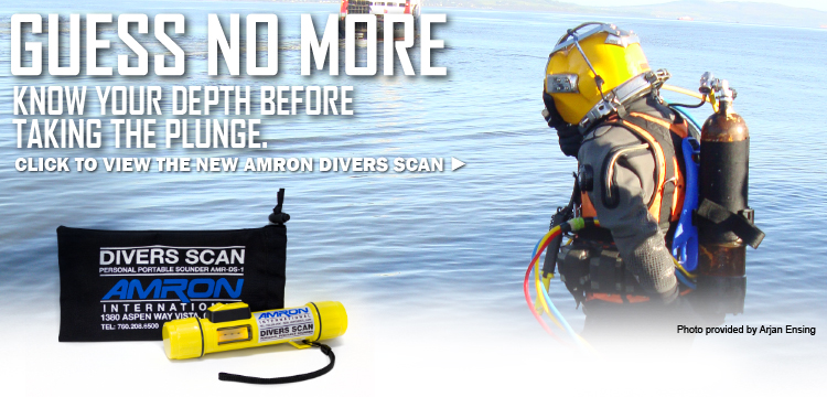 Amron International Divers Scan Personal Portable Sounder