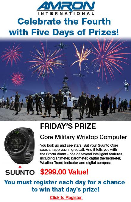 Suunto Core Military Wristop Computer