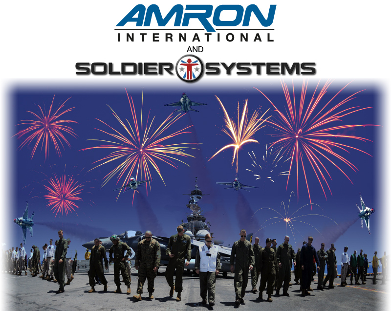 Amron International &amp; Soldier Systems Celebrate the Fourth with Five Days of Prizes!