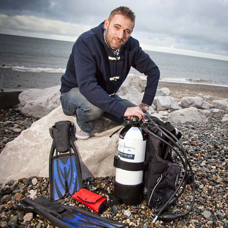 Wounded Soldiers Fight Back with SCUBA Careers