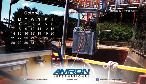 2012 Diving Calendar
