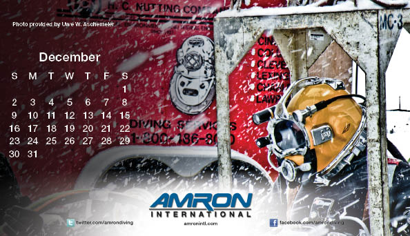 Amron Diving Calendar