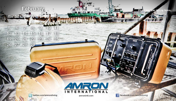 Amron Diving Calendar February