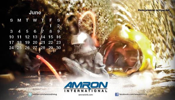 Amron Diving Calendar June