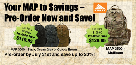 You MAP to Savings - Pre-order and Save!