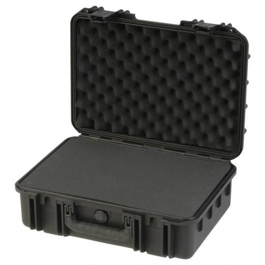 3I-1711-6B-C MIL-STD Waterproof Case - 6 in. Deep - Cubed Foam - Black