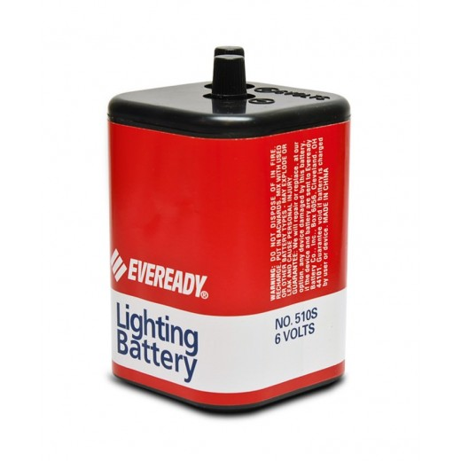 2890-01 6-Volt Non-Rechargeable Screw Top Lantern Battery