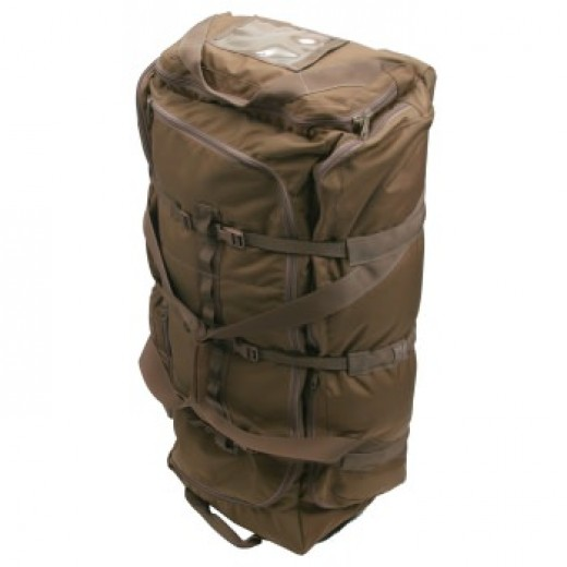 Rolling Duffle Bag - Coyote Brown