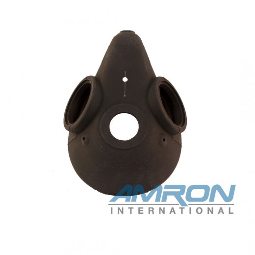 510-747 Silicone Oral Nasal Mask with Improved Face Sealing Flap for KM Dive Helmets