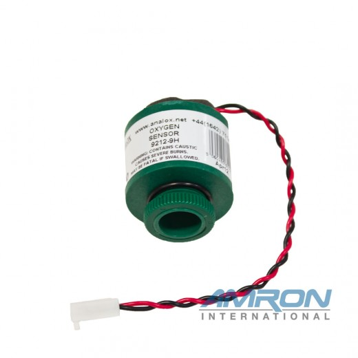9100-9212-9H Replacement Oxygen (O2) Sensor  (O-2000 mBar)