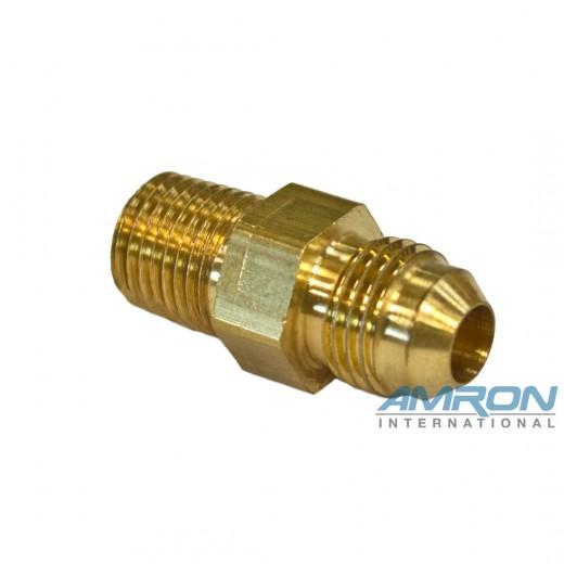 355-225 No. 6 JIC X 1/4 in. NPT Male Brass Adapter