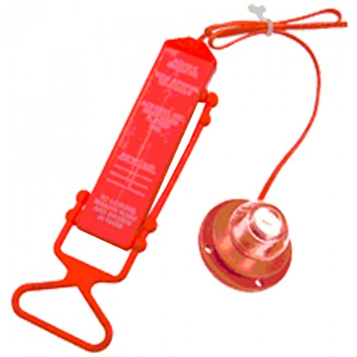 L8-3 Water Activated Personal Rescue Light for Life Vests - Case of 25