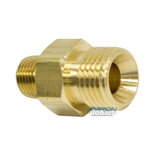 AF-1008 Adapter - 9/16-18 RH to 1/8 in. MNPT Brass
