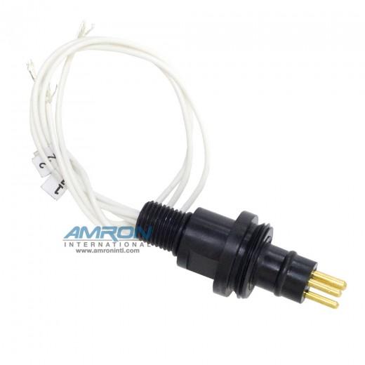 160-0003-01 3 Pin Male Bulkhead Connector