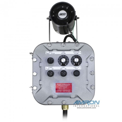 Amcom ™ 2810E-ATEX Explosion Proof Chamber Communicator