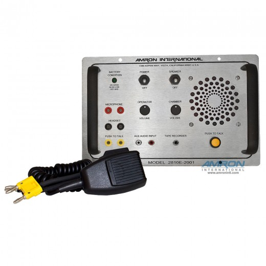 Amcom ™ Single Lock Chamber Communicator