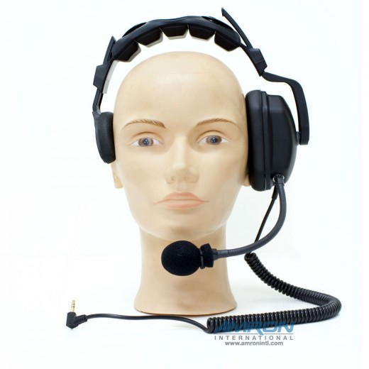 Headset for Remote Wireless Tender - Single Muff