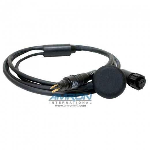 Earphone Assembly with RMG-4-MP Male Waterproof Marsh Marine Connector