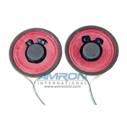 Replacement Earphones Speaker with 12 in. Lead (Right)
