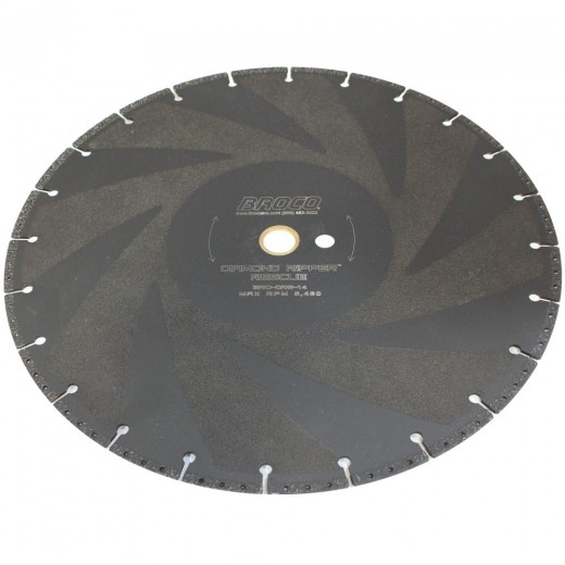 DRS-12 Broco Diamond Ripper Quickie 12 Inch Rescue Saw Blade