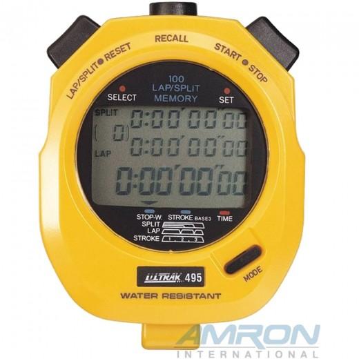 Ultrak 495 - 100 Lap Memory Stopwatch