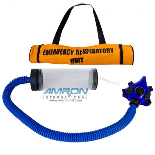 Emergency Respiratory Unit (ERU) for Lung Powered Carbon Dioxide (CO2) Scrubber