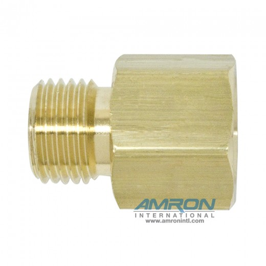 GF-0242 CGA Adapter - 1/4 in. FNPT to 9/16-28 R.H. Male Oxygen