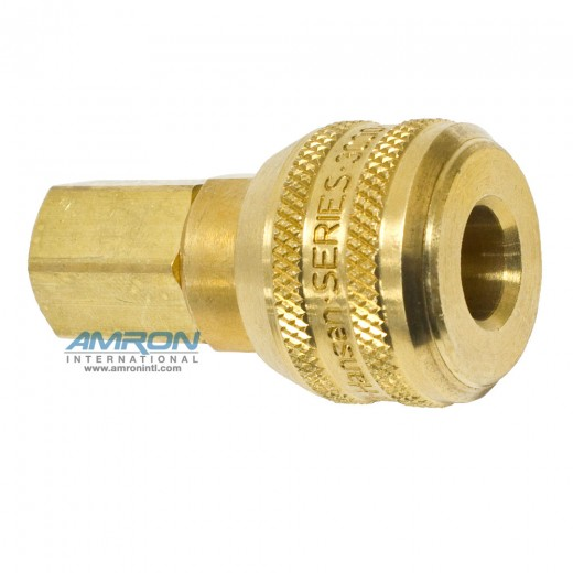 Series 3000 Female NPT End Connection Socket - 1/4 in. FNPT in Brass