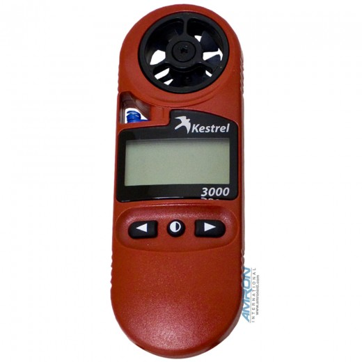 3000 Pocket Wind Meter - Red