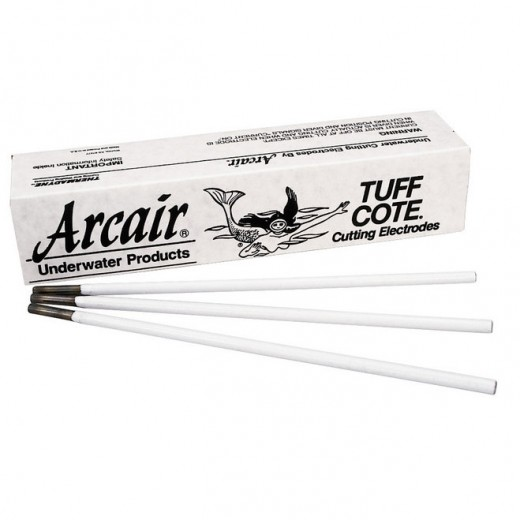 TUFF-COTE® Cutting Electrodes Flux Coated 5/16 in. x 14 in. - 50 Rods