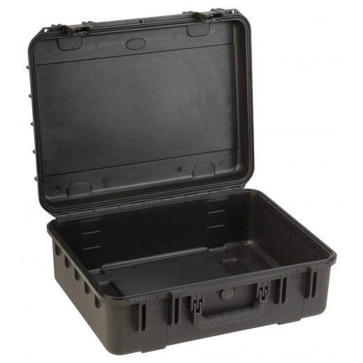 3I-2015-7B-E MIL-STD Waterproof Case - 7 in. Deep - No Foam - Black