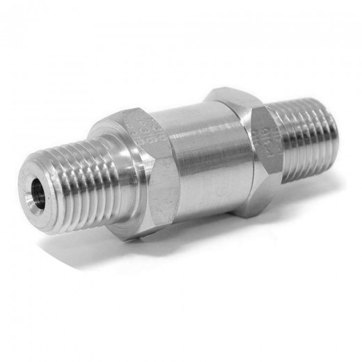 4M-C4L-1-SS - C-Series Check Valve 1/4 inch MNPT 1 Crack Pressure - Stainless Steel