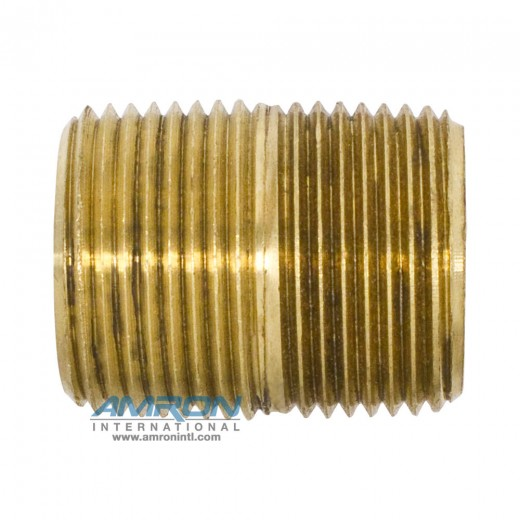 215PN-12 Nipple LP BRS 3/4 inch MNPT Male – Brass