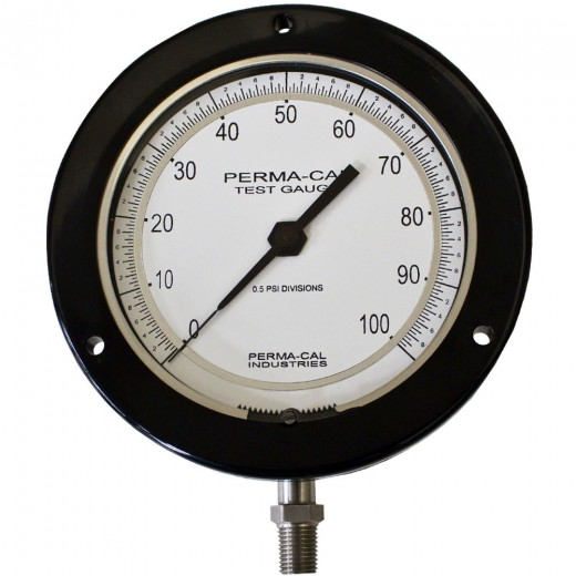 4.5 in. Precision Test Gauge 0.25% Accuracy 0-30 PSI