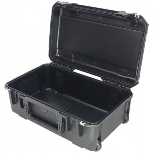 3I-2011-7B-E MIL-STD Waterproof Case - 7 in. Deep - No Foam - Black
