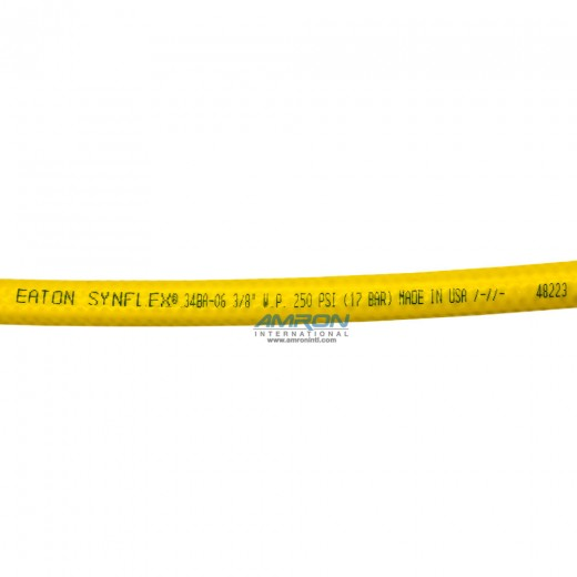 34BA Bright Yellow Breathing Air Hose - 300 Foot Reel