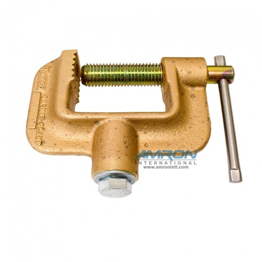 "Copper Alloy ""C"" Ground Clamp GC-600-50"
