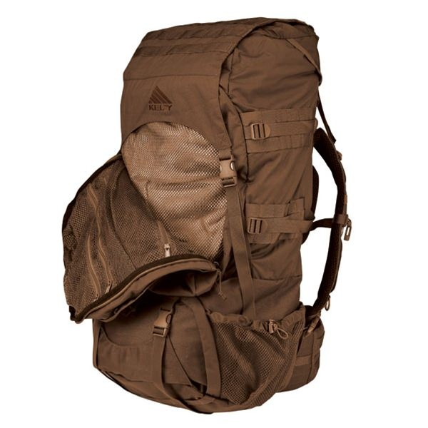 Kelty Eagle 128 Backpack - Coyote Brown - Top-load and front-panel access