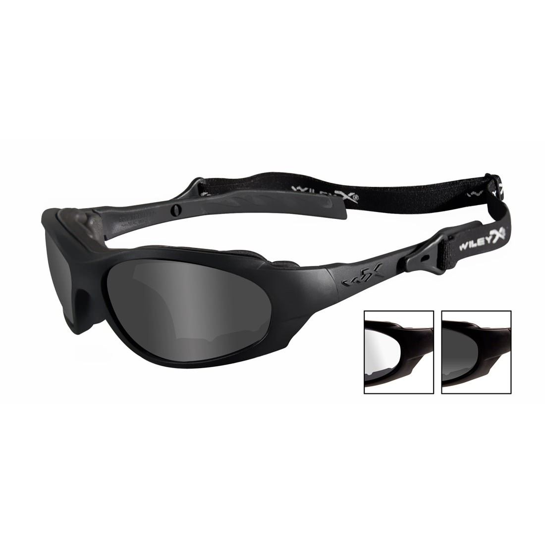 Wiley X XL-1 2 Lens Sunglasses Goggles Hybrid WIL-291