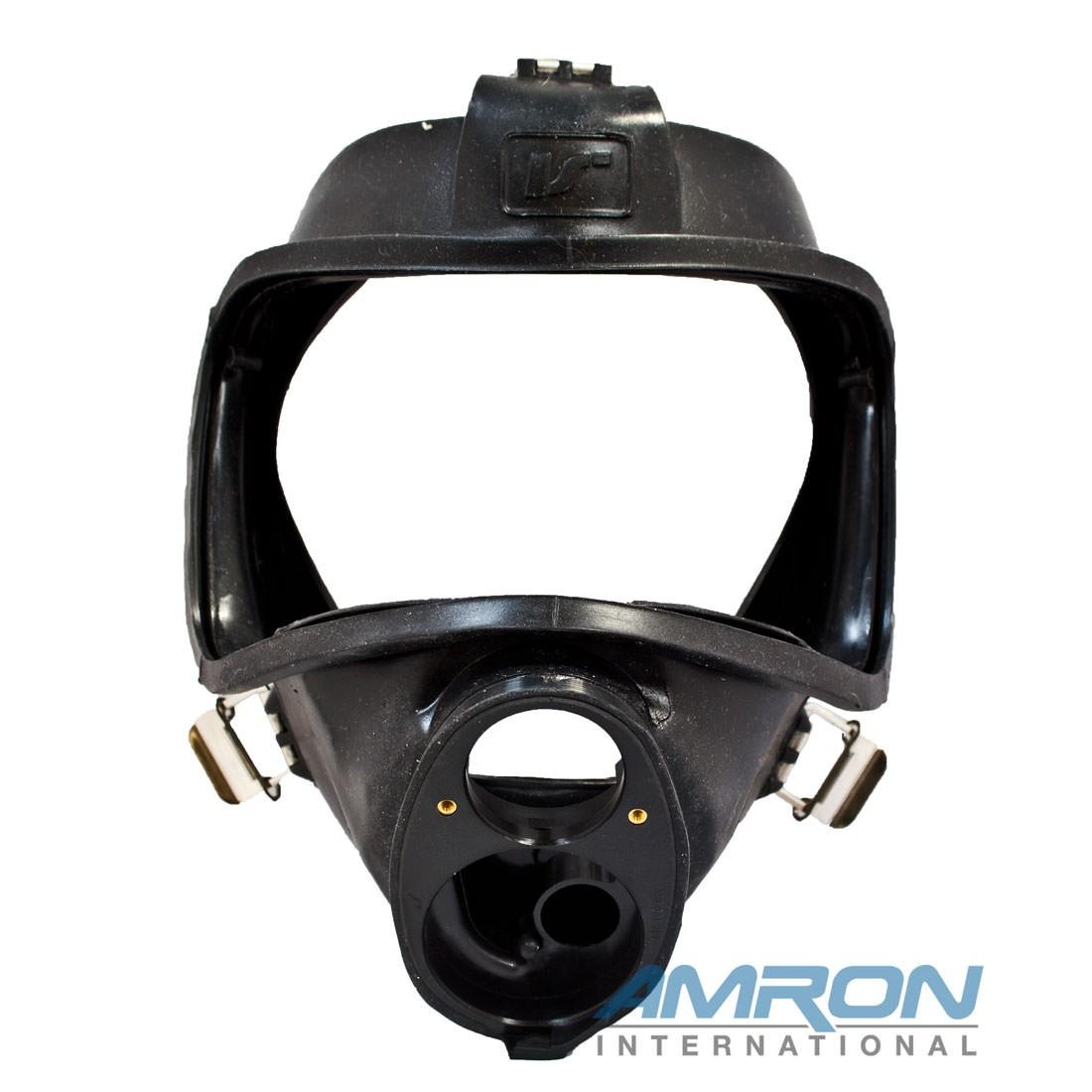 Interspiro AGA 460-190-544 Mask Body Assembly - Black Silicone