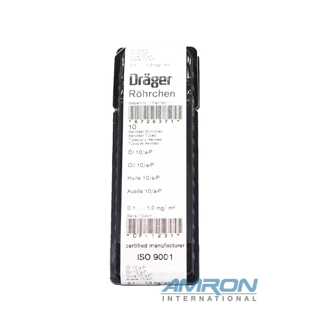 Drager-Tube Oil 10/a-P