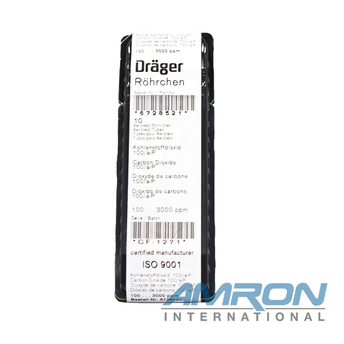 Drager Tube CO2 - 100/A-P, 6728521