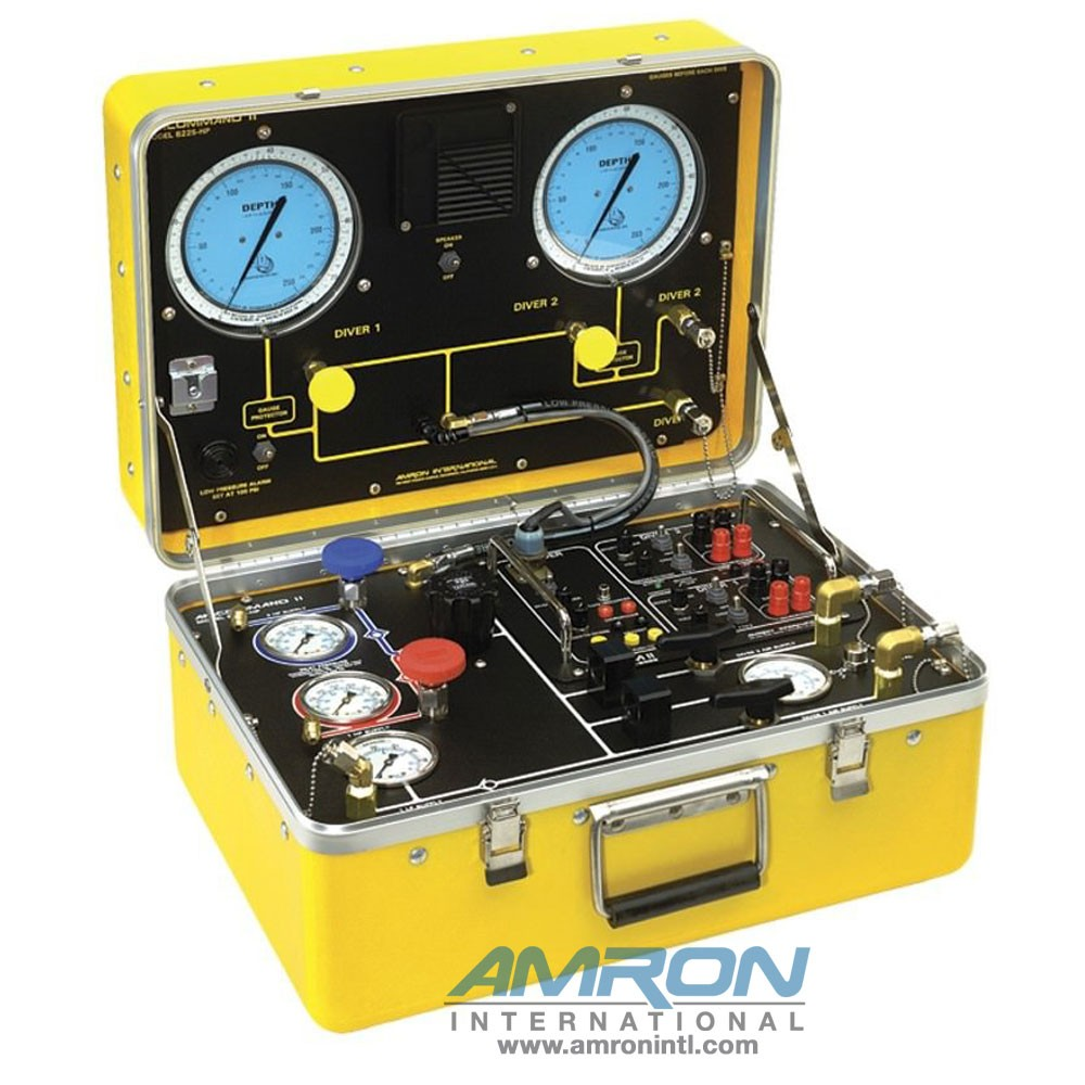 Amron International Amcommand II Model 8225-HP Two Diver - Air Control / Communications System