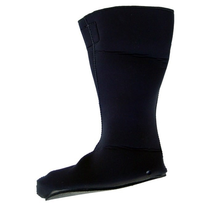 DUI Hard Sole Hot Water Boots - Black