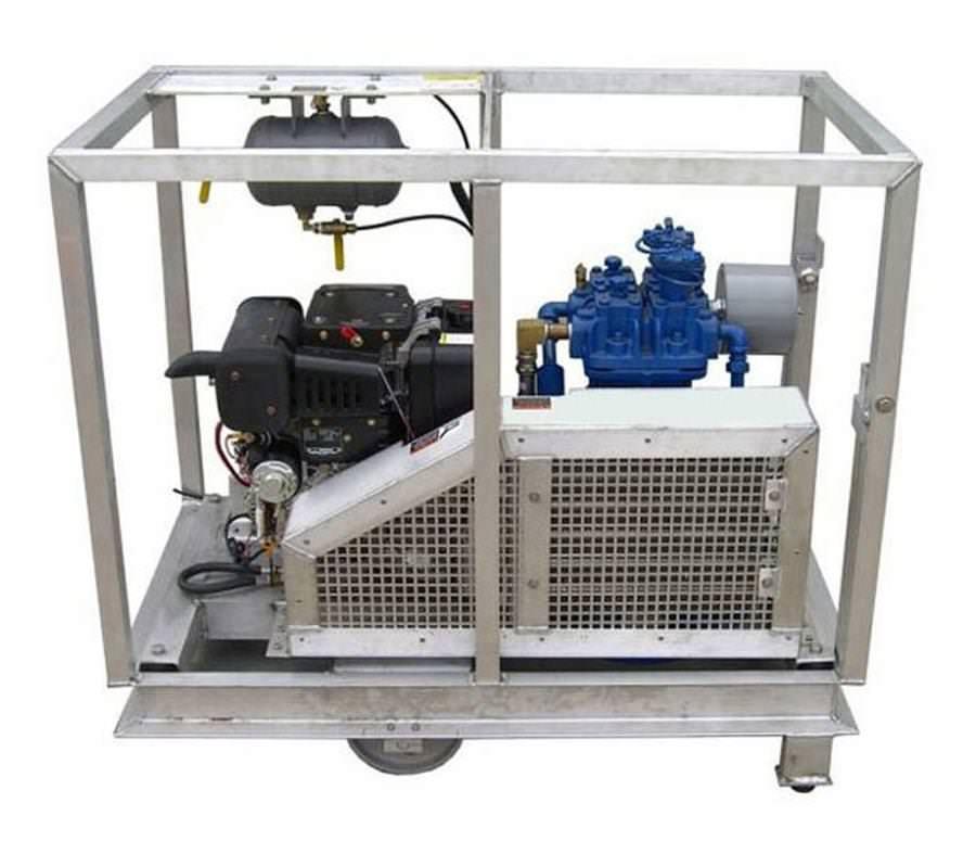 Quincy 325 Low Pressure Diesel Air Compressor 18.7cfm at 175psi