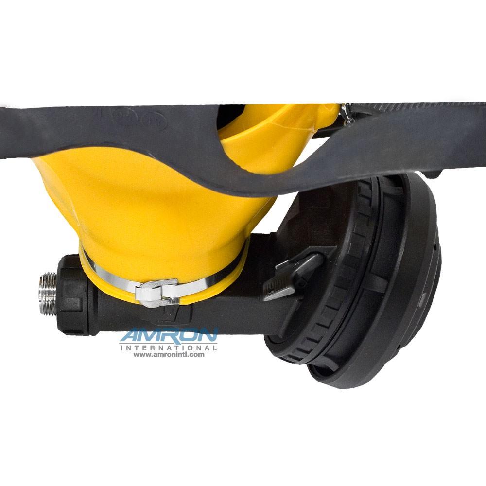 Interspiro AGA Divator MK II Full Face Mask with Positive Pressure Regulator - Silicone - Yellow - 96319-02