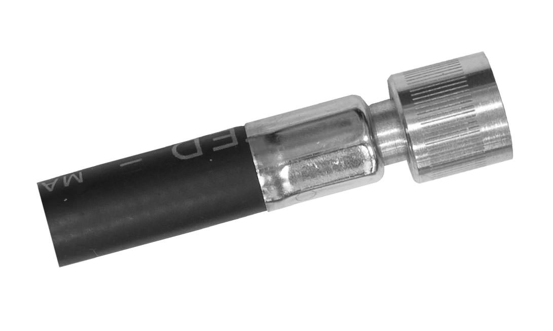 LP Low Pressure Hose with AGA Connector - (Metric Nut) Female Swivel for 2nd Stage