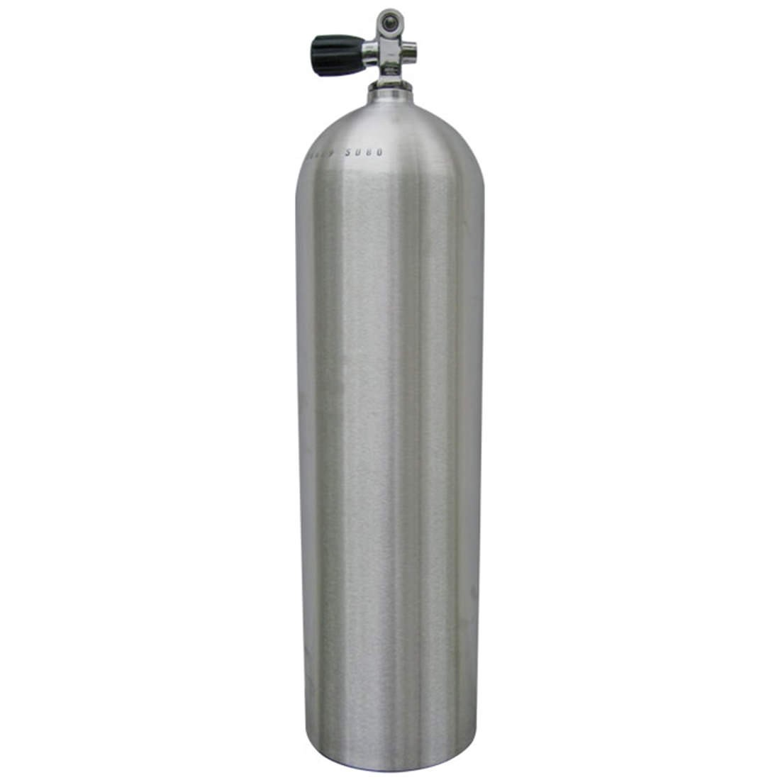 XS SCUBA AL100 Aluminum SCUBA Cylinder with Pro Valve - Brushed No Coat