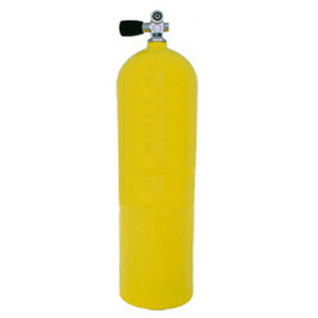 XS SCUBA AL100 Aluminum SCUBA Cylinder - Yellow